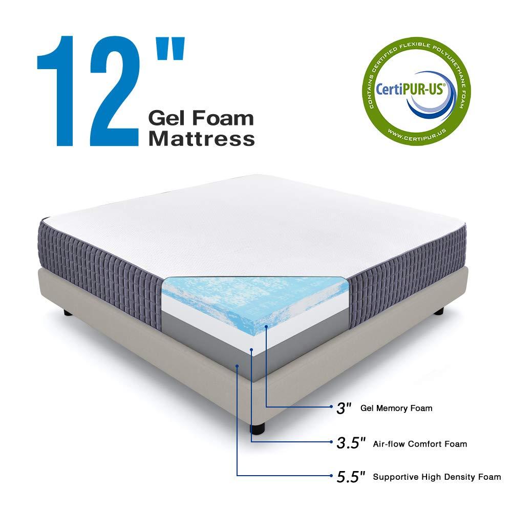 Best Gel Foam Mattress 2020 – Plant Based Memory Foam Mattress
