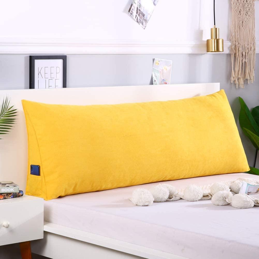 LOVEU Large Bolster Headboard Pillow