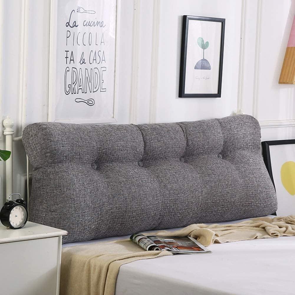 NJYT Headboard Pillow Like Sofa Back Seat