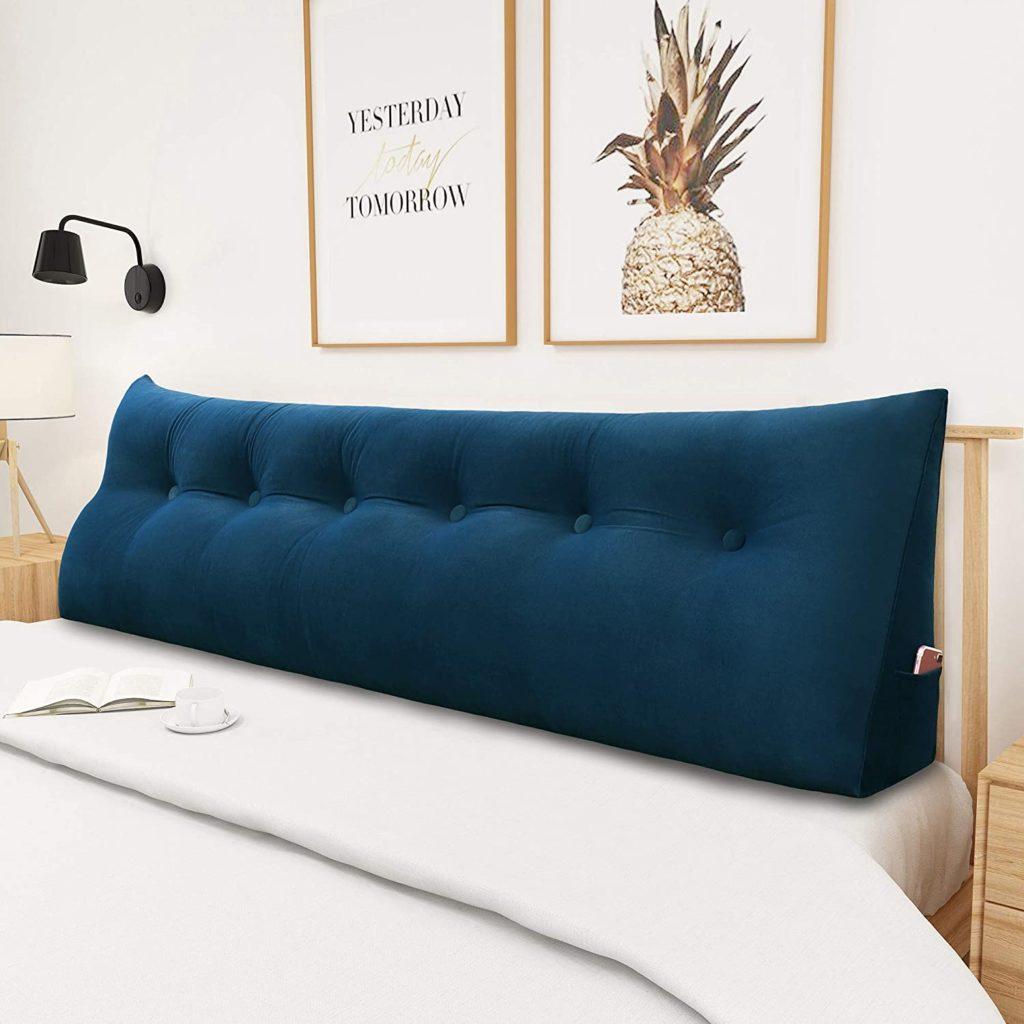 Yxcsell Triangular Soft Headboard Pillow