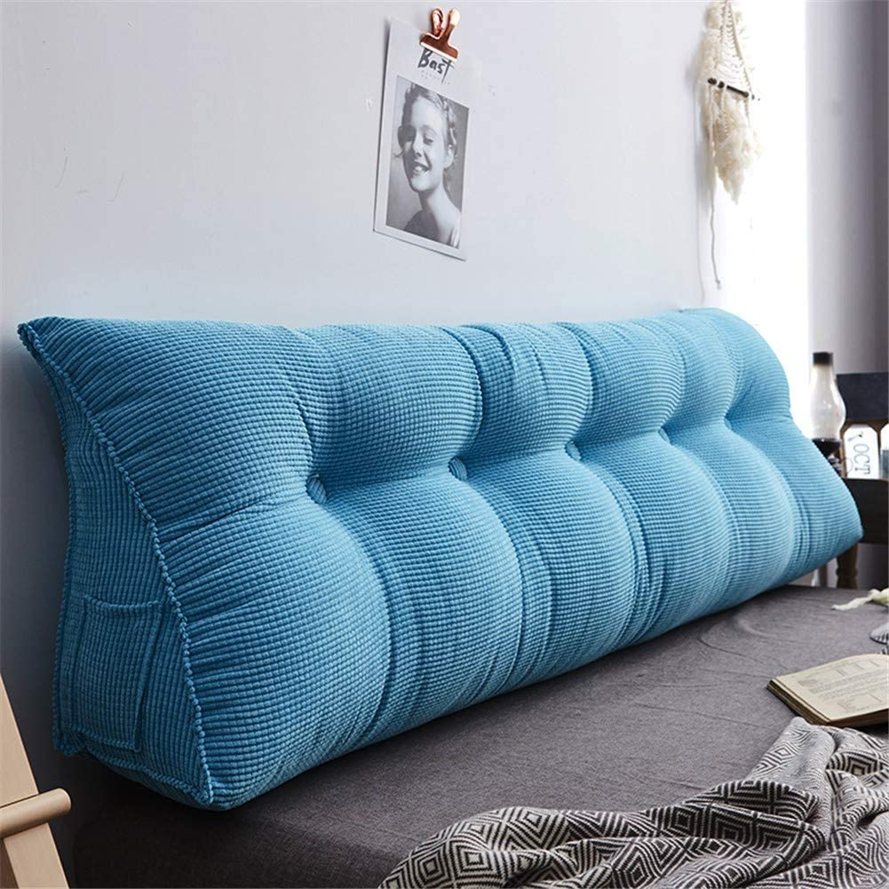 ZZKD Solid Color Headboard Pillow