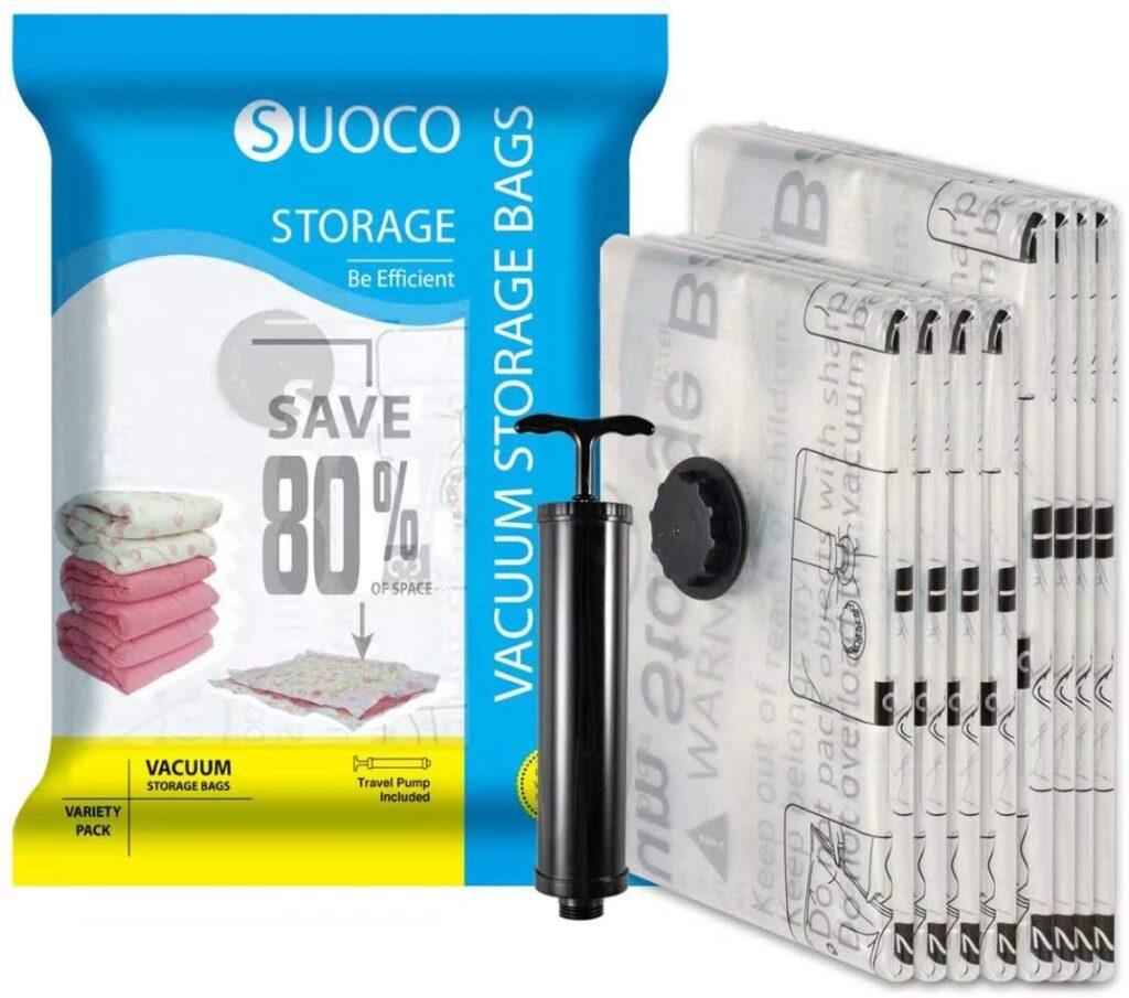 SUOCO Mattress Vacuum Storage Bags