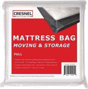 CRESNEL Mattress Bag for Moving & Long-Term Storage