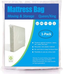 ComfortHome Mattress Bag for Moving and Storage