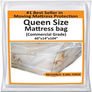 Movinghost  Mattress Bags for Moving Quee