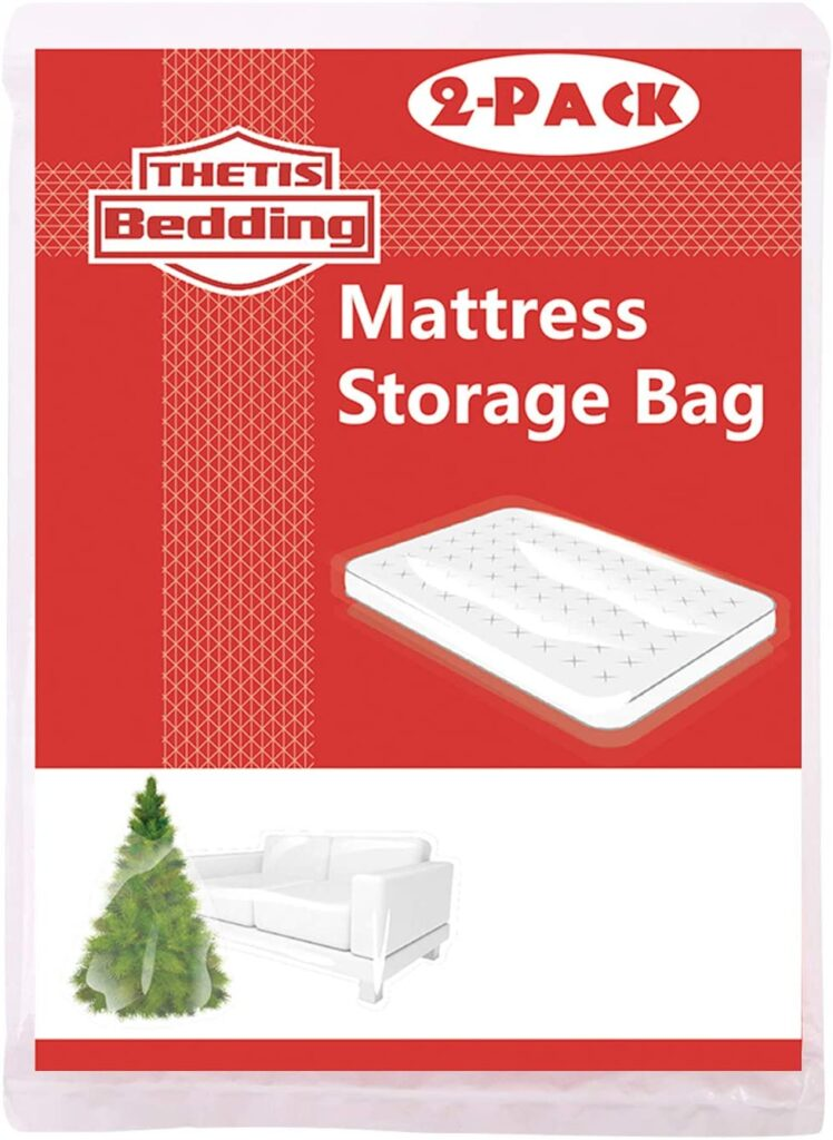 THETIS Homes  Mattress Bag for Moving and Storage