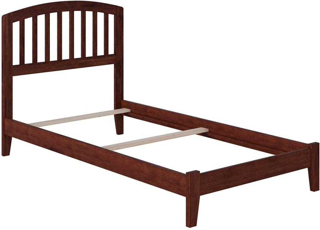 Atlantic Furniture Richmond Traditional Bed, Twin XL, Walnut