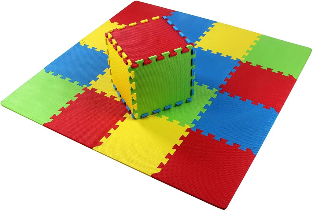 BalanceFrom Kid's Puzzle Thick Play Mat