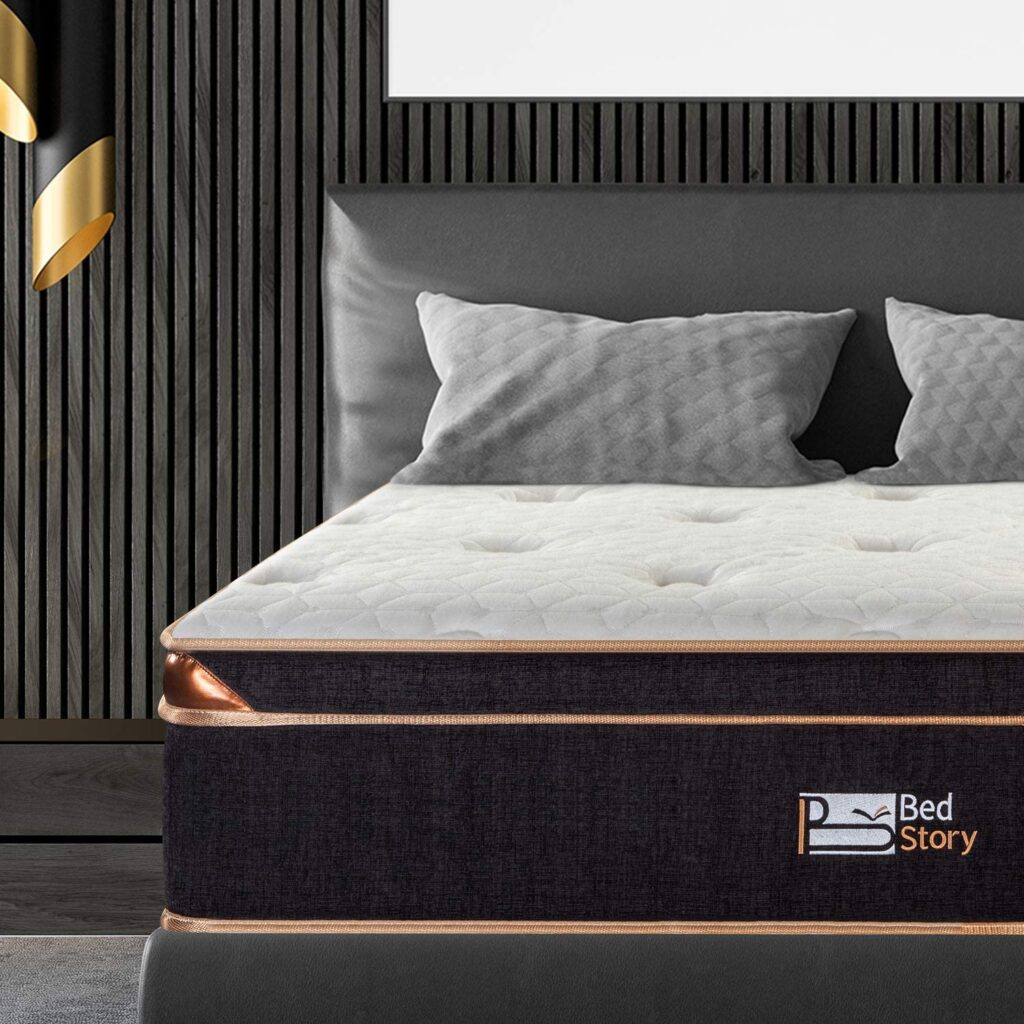 BedStory Twin xl Gel Hybrid Mattress