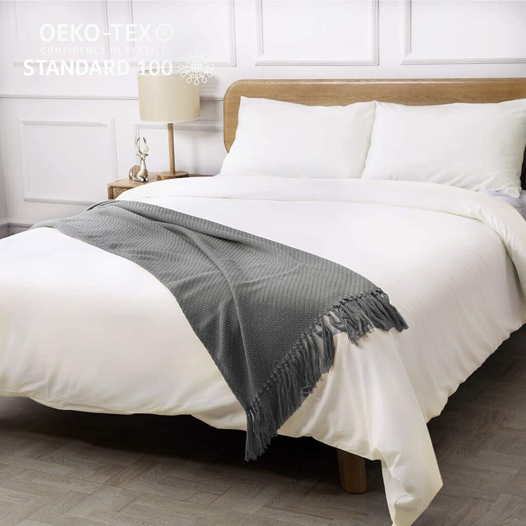 CO-Z 100% Washed Cotton Duvet Cover