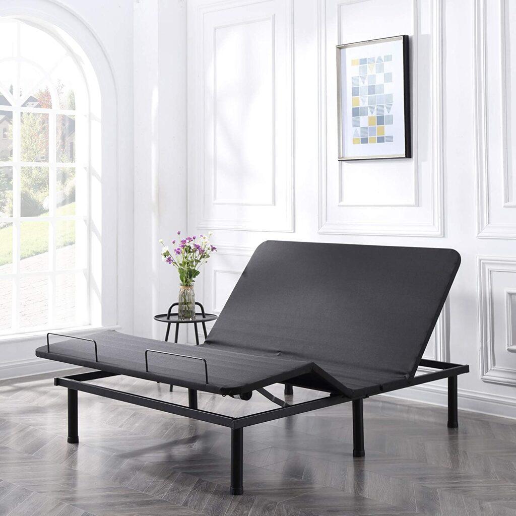 Classic Brands Adjustable Comfort Affordamatic 2.0 Adjustable Bed Base, Twin XL, Black