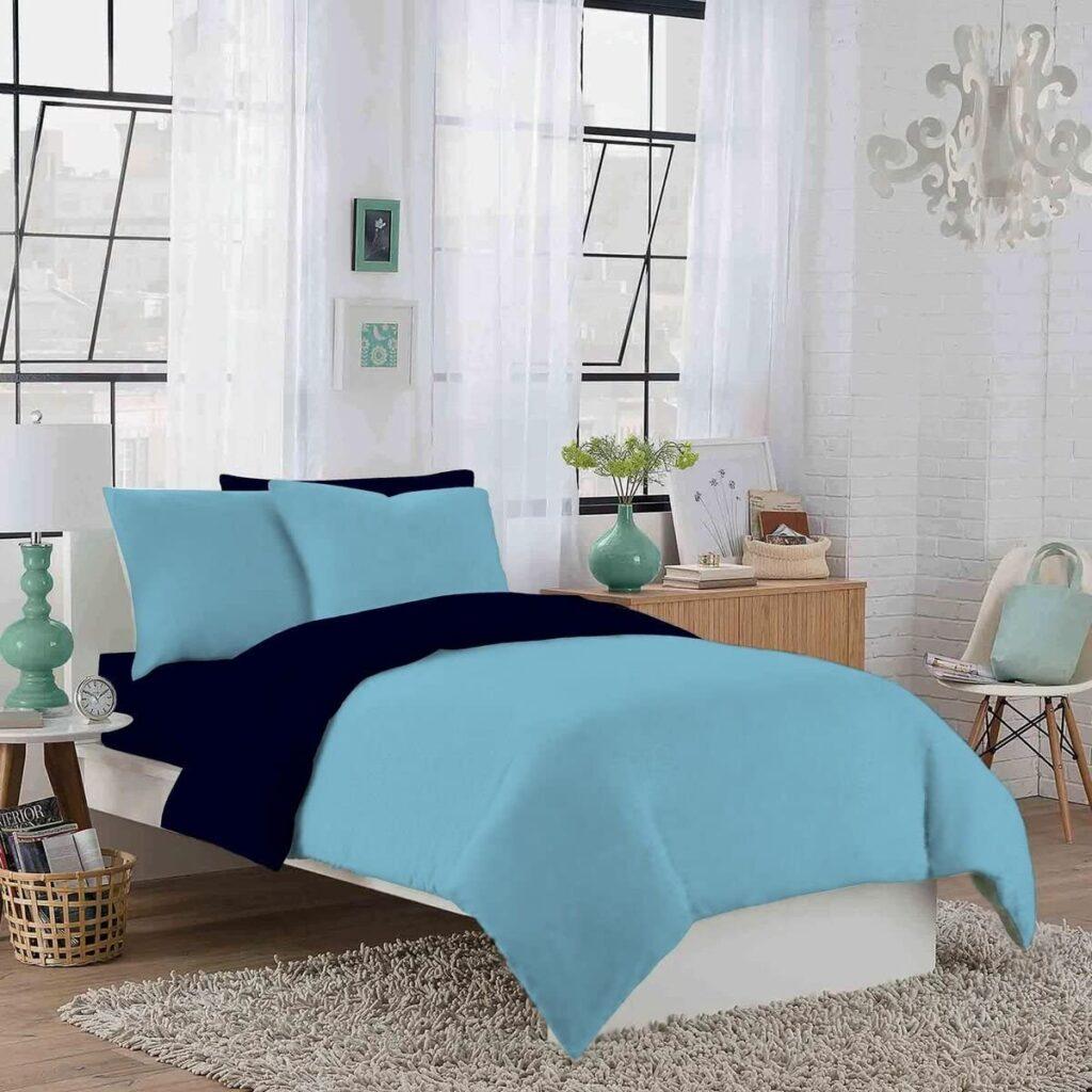 Crescent Bedding Reversible Duvet Cover