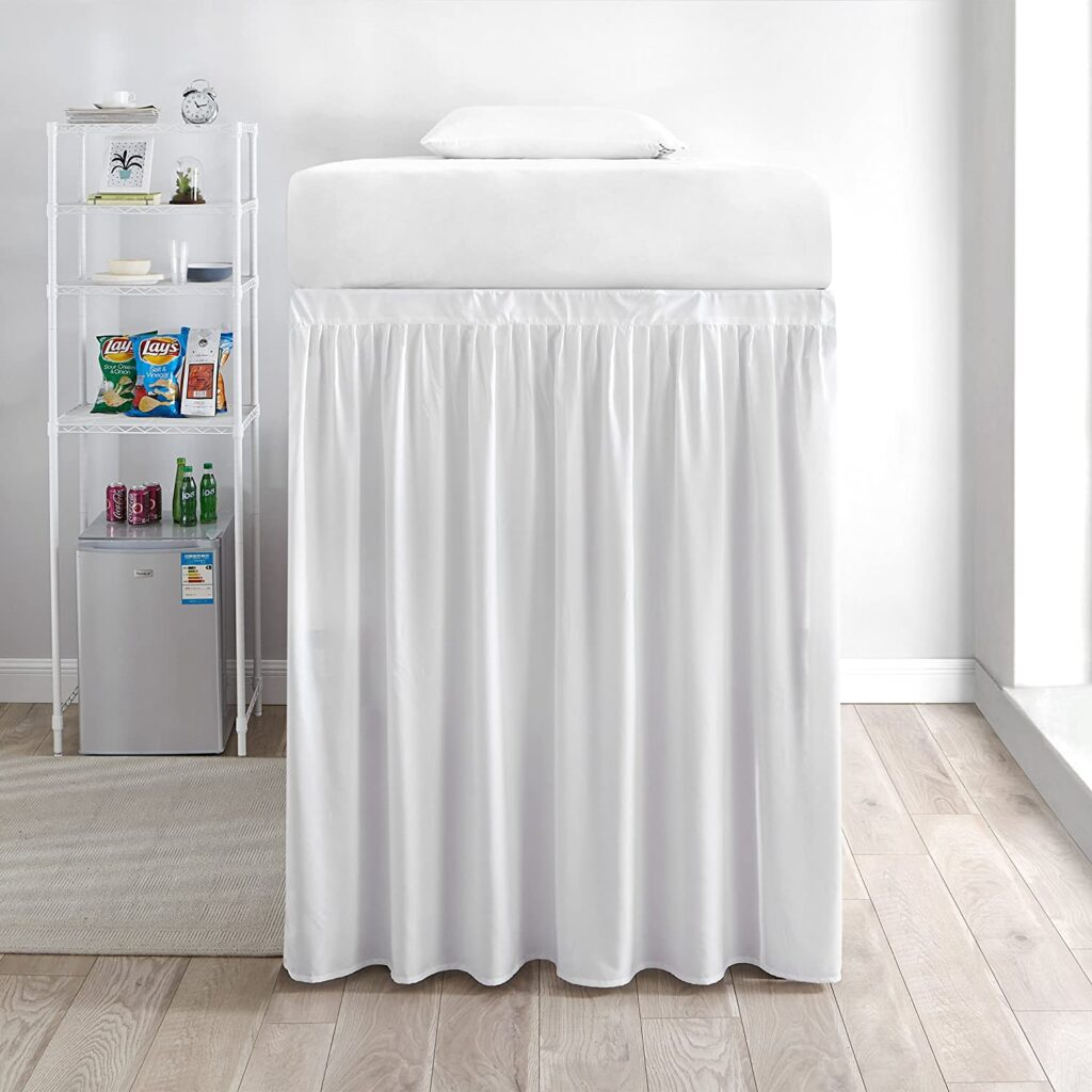 DormCo Extended Twin xl Bed Skirt