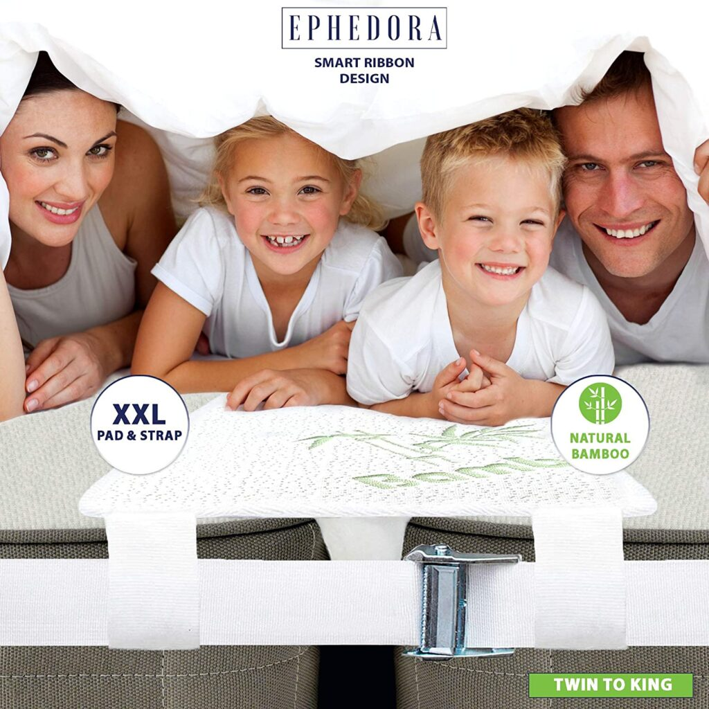 EPHEDORA Bed Bridge Twin to King Converter & Mattress Connector