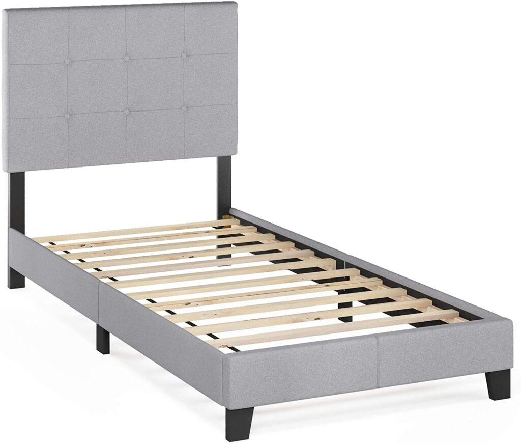 Furinno Platform Bed Frame With Headboard