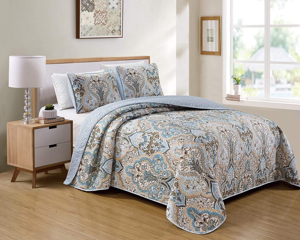 Kids Zone Home Linen Twin xl Bedspread Set