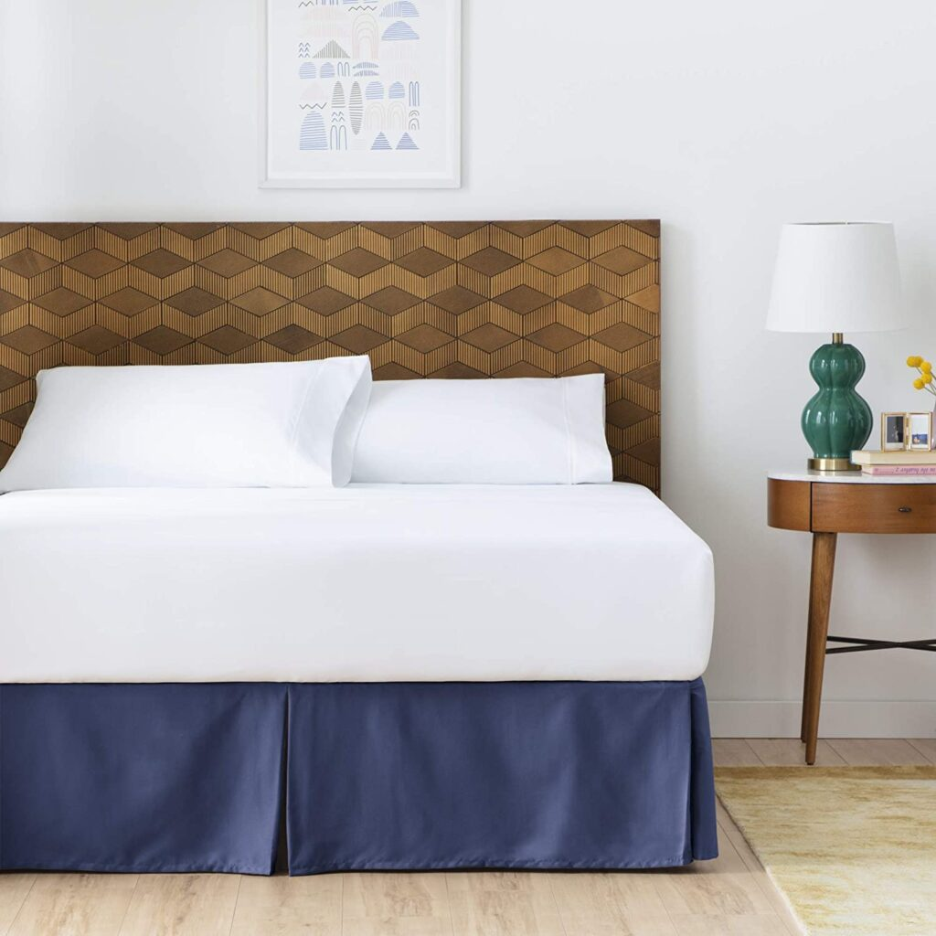 Linenspa Wrinkle and Fade Resistant bed skirt