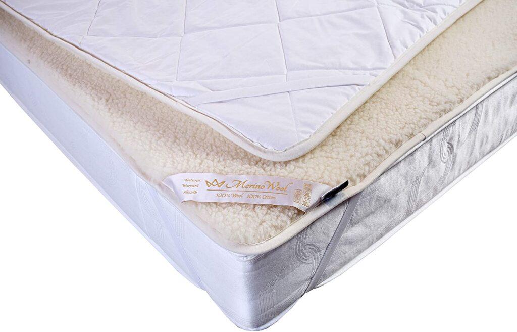 Natural & Warm Reversible Mattress Pad