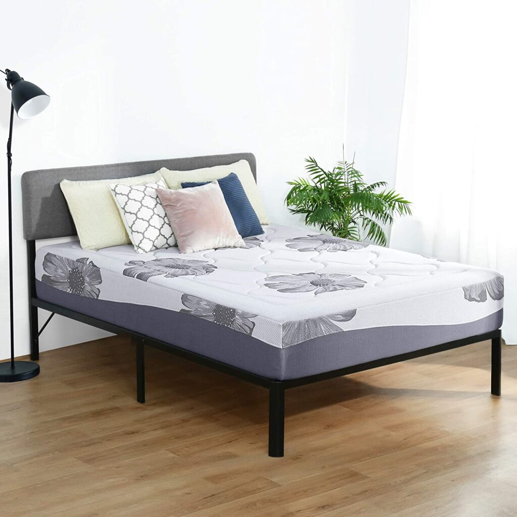 Olee Sleep 12 Inch King Memory Foam Mattress