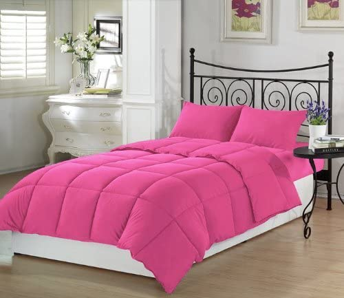 Twin XL Premium Pink Extra Long Comforter