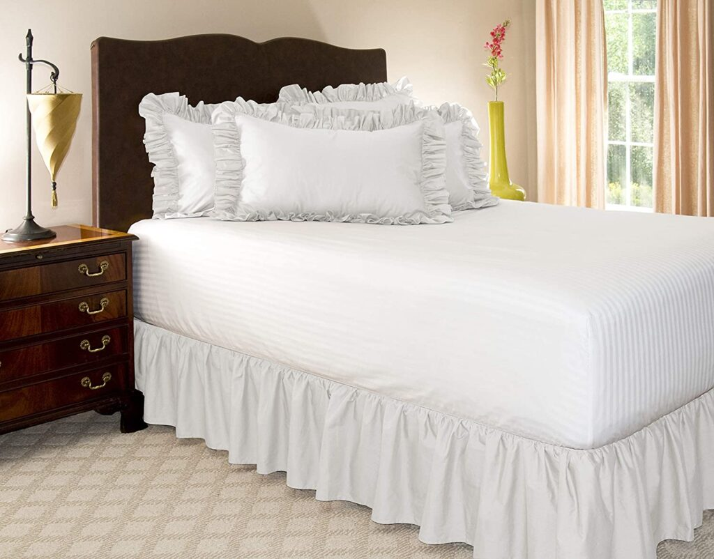 ShopBedding Ruffled Twin xl Bed Skirt