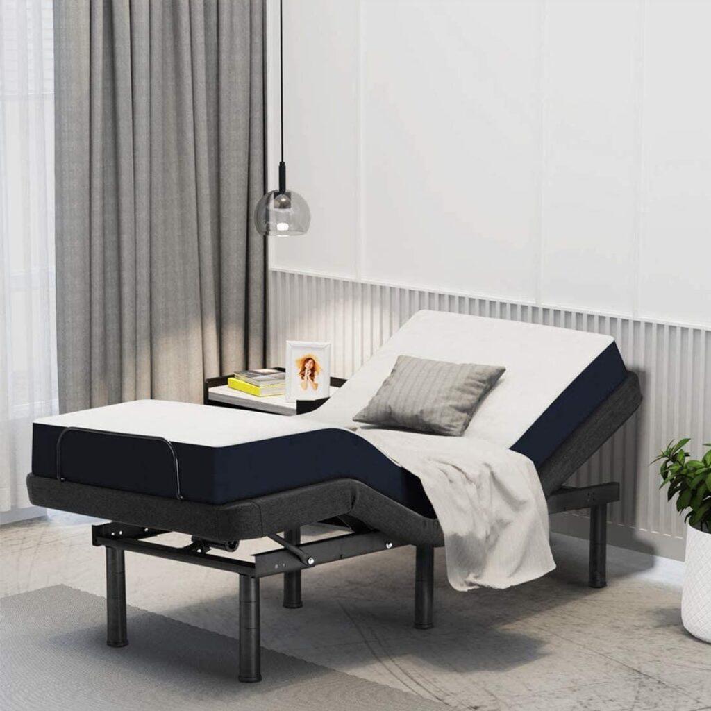 Smile Back Electric Adjustable Bed Base Steel Frame