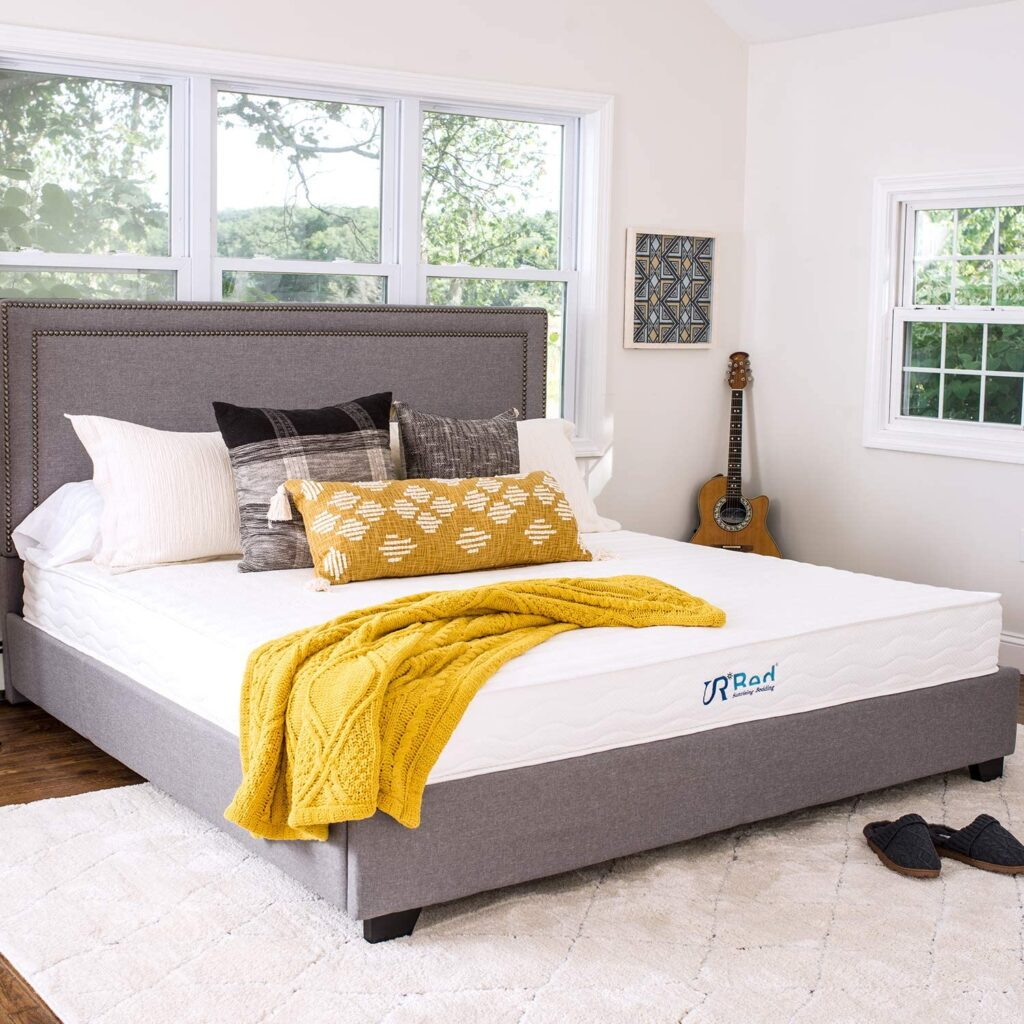 Sunrising Bedding 10 Inch Natural Latex Hybrid Twin XL Mattress,