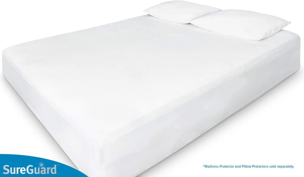 SureGuard Organic Cotton Mattress Protector