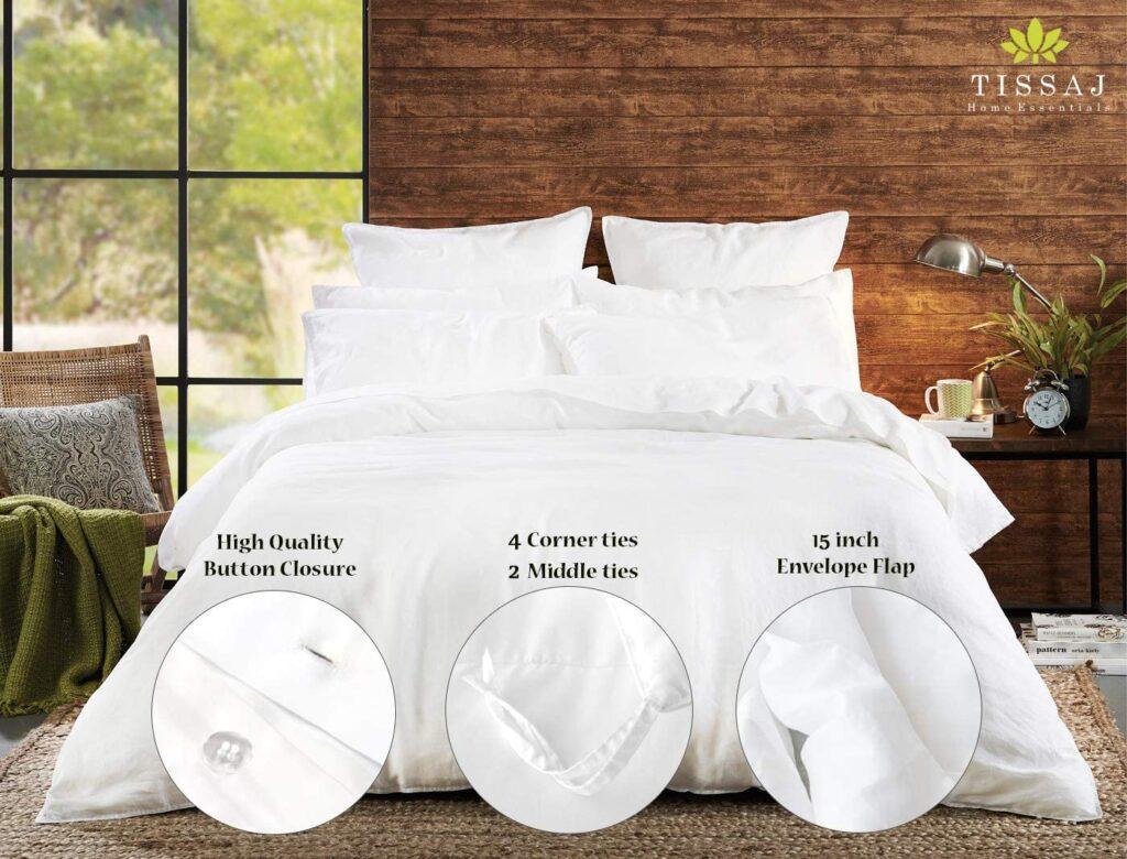 Tissaj Store Organic Cotton Duvet Cover
