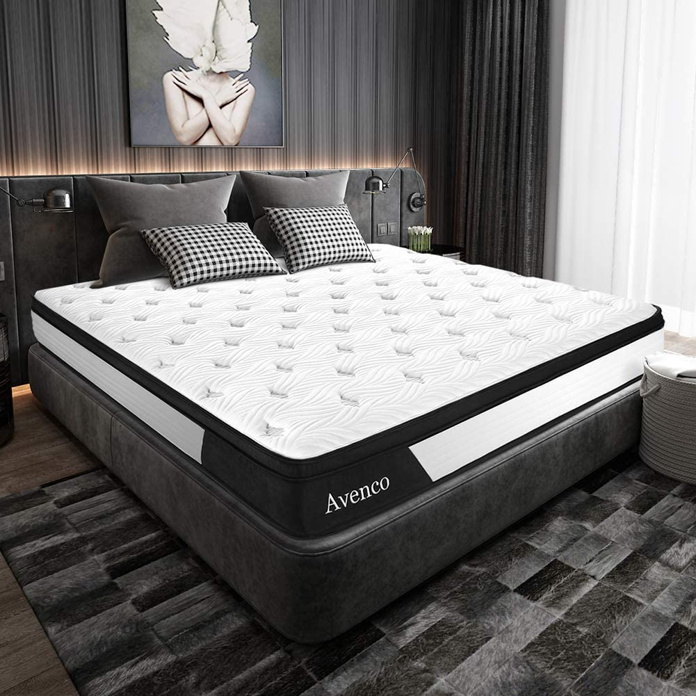 Twin XL Mattress, Avenco Hybrid Mattress Twin X