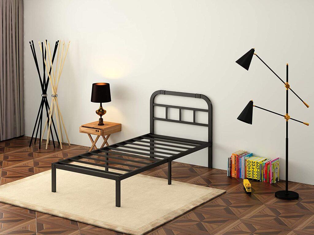 Ziyoo Twin XL Bed Frame with Headboard.jpg