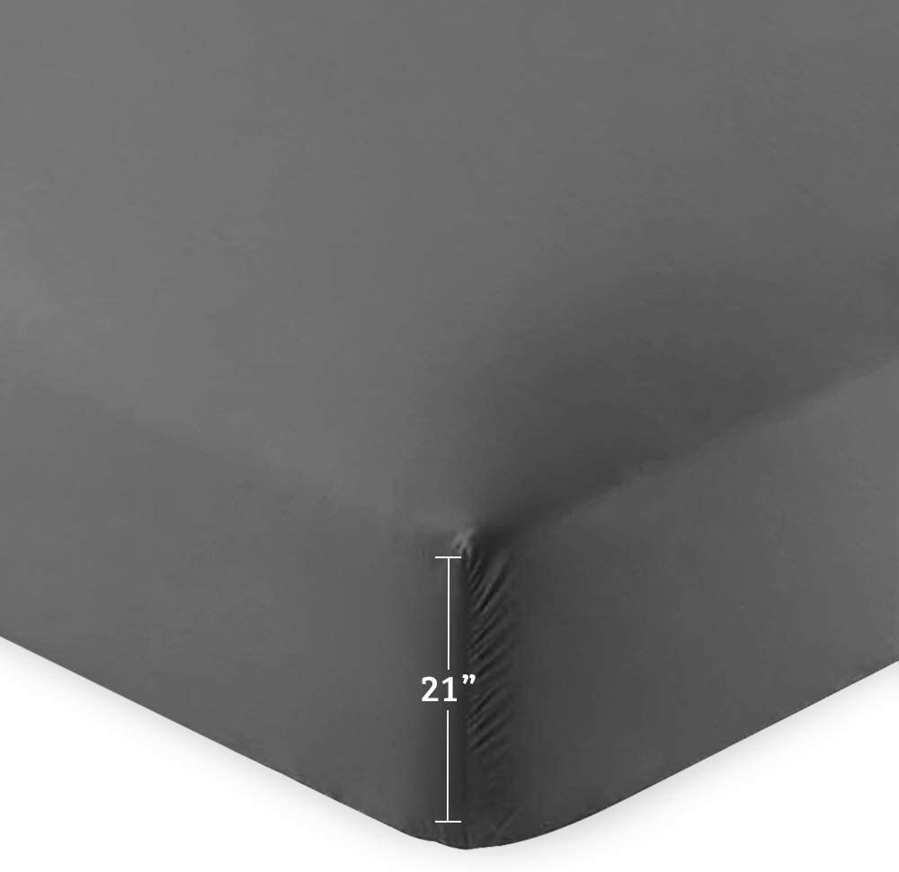 Bare Home Fitted Bottom Sheet