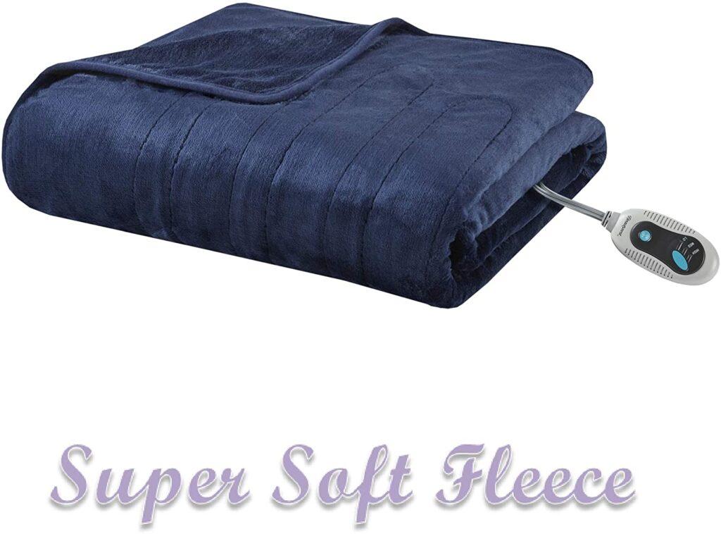 Beautyrest Microlight Electric Blanket Auto Shutoff