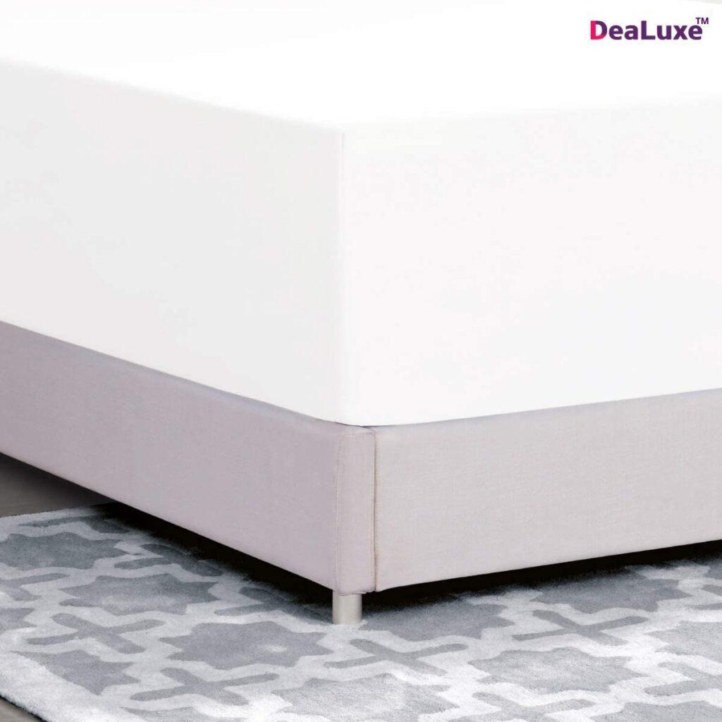 DeaLuxe Store Deep Pocket Queen Fitted Sheet