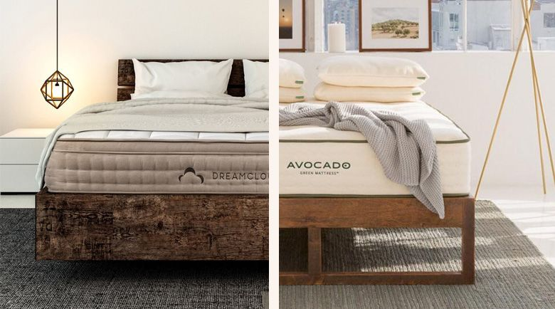 Green Tea Mattress VS Avocado Mattress