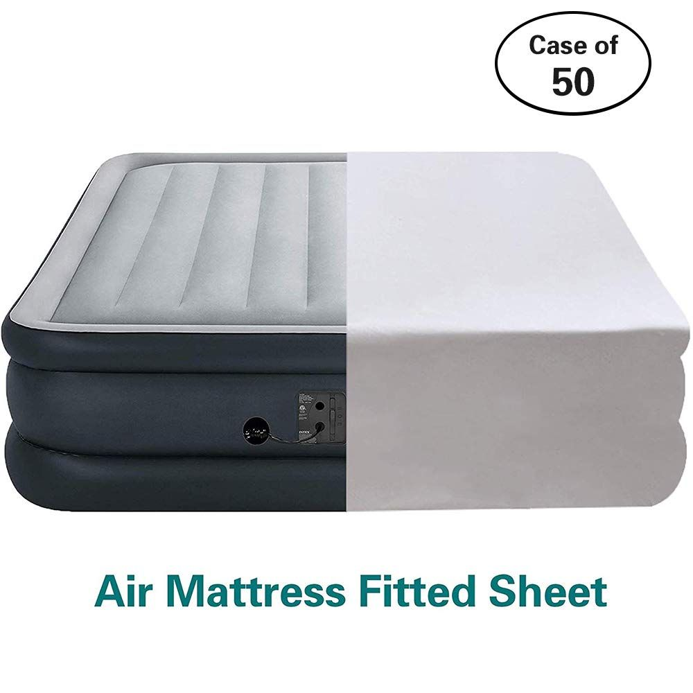 How Do You Fit a Fitted Sheet on an Air Mattress?