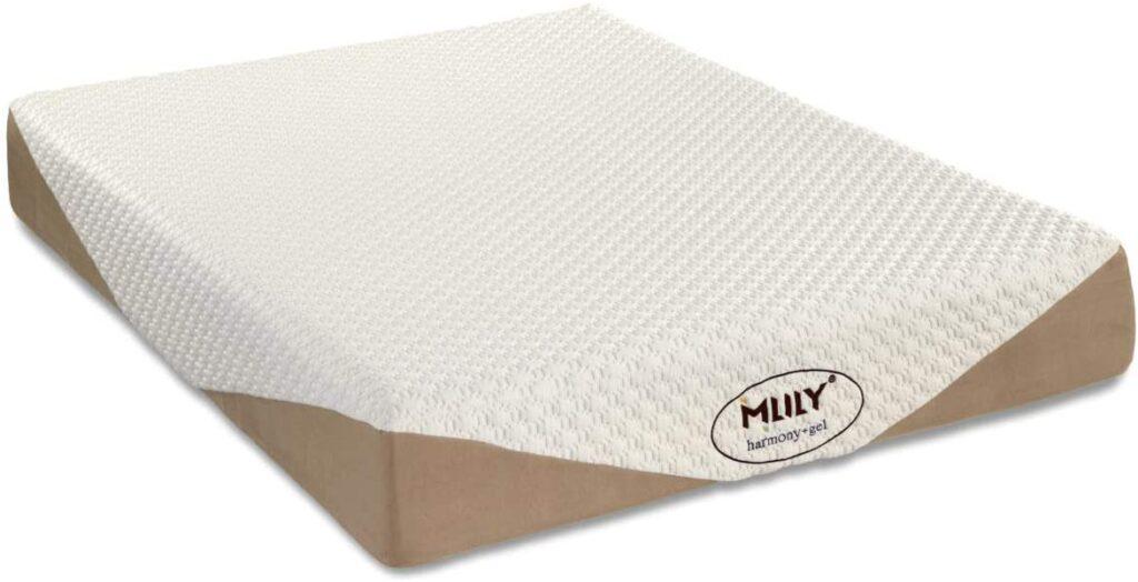 Mlily Gel Harmony Memory Foam Mattress Aloe Vera Extract