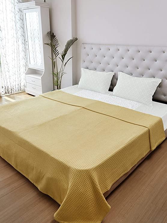 Nirisha Cotton Waffle Weave Thermal Blanket