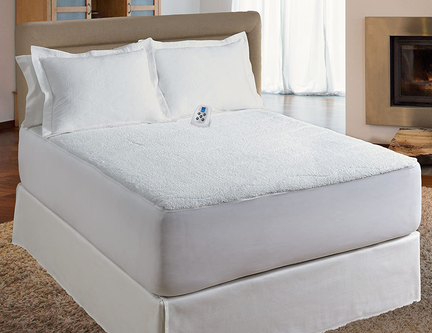 Serta Heated Mattress Pad