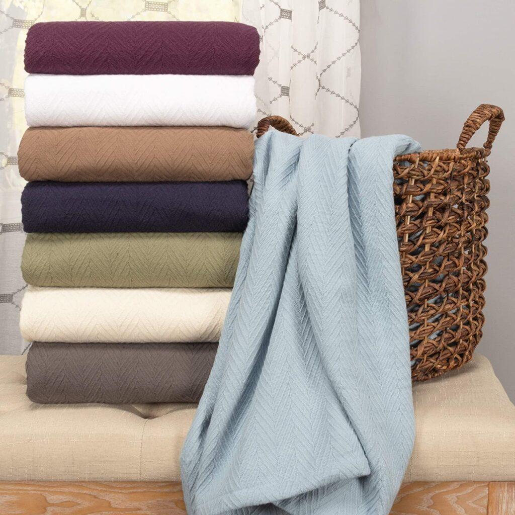 Superior All Season Cotton Thermal Blanket