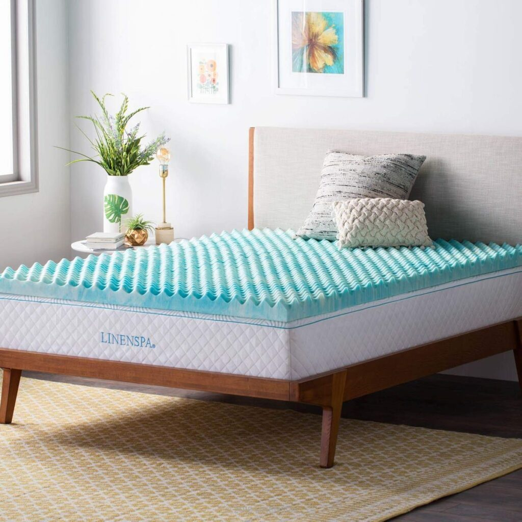 best egg crate mattress topper
