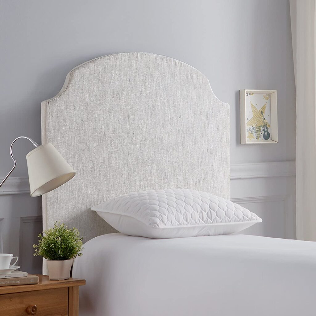 Beveled Corner Curve DIY Headboard By DormCo