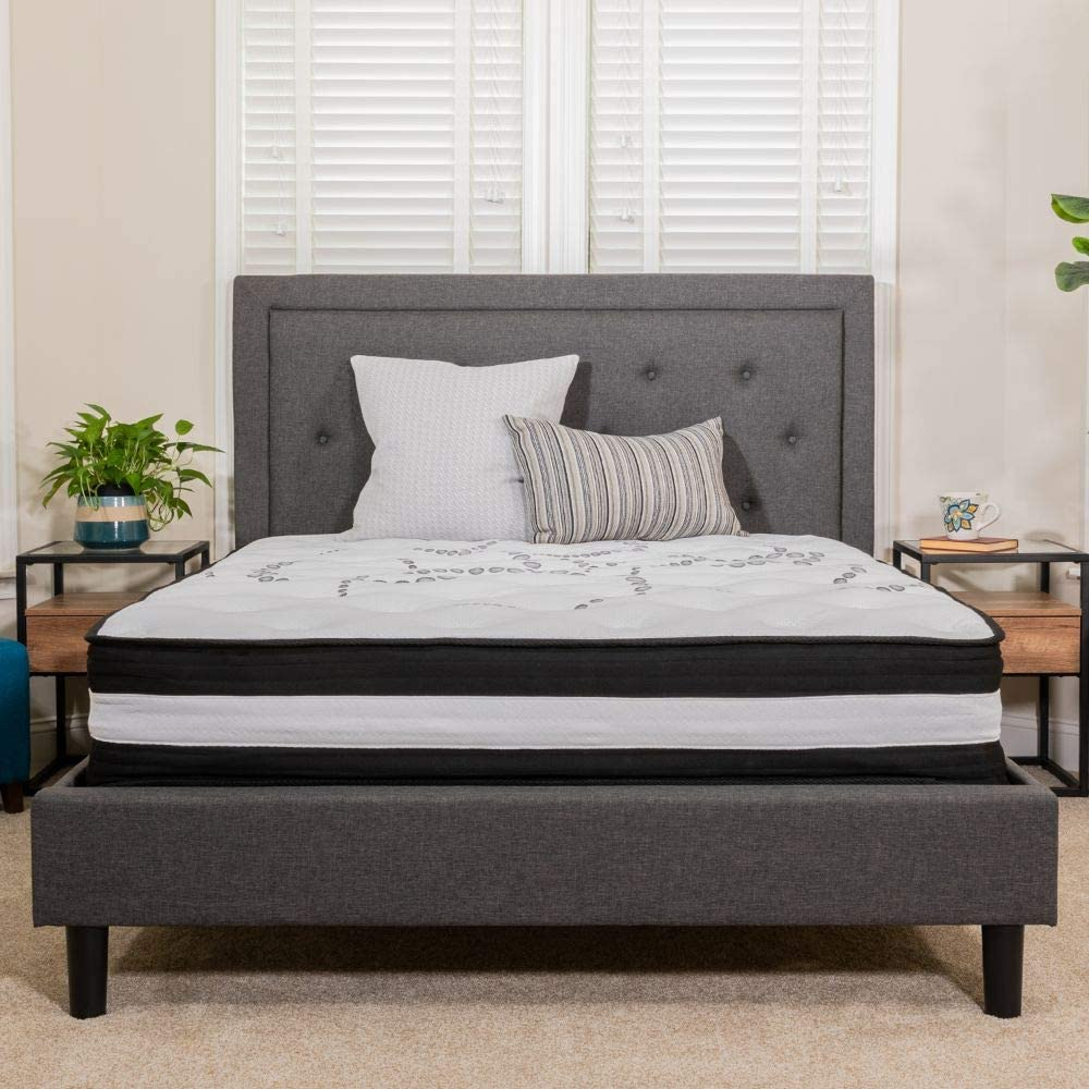 Flash Furniture Comfortable Pocket Spring Mattress