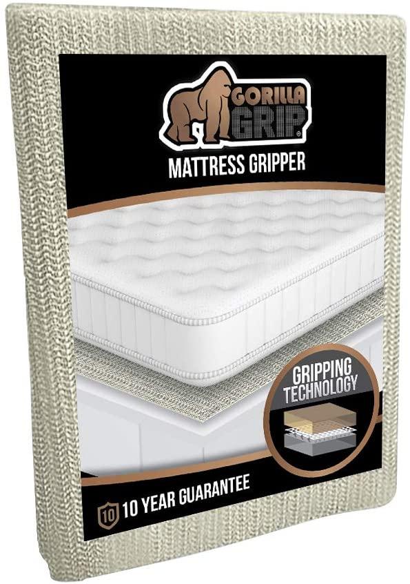 GORILLA GRIP Original Slip Resistant Mattress Gripper Pad
