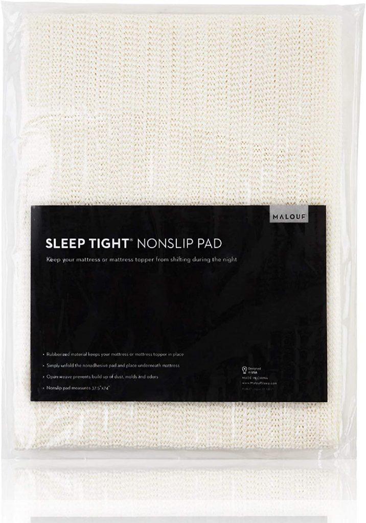 MALOUF SLEEP TIGHT Queen Size Non-Slip Mattress Grip Pad