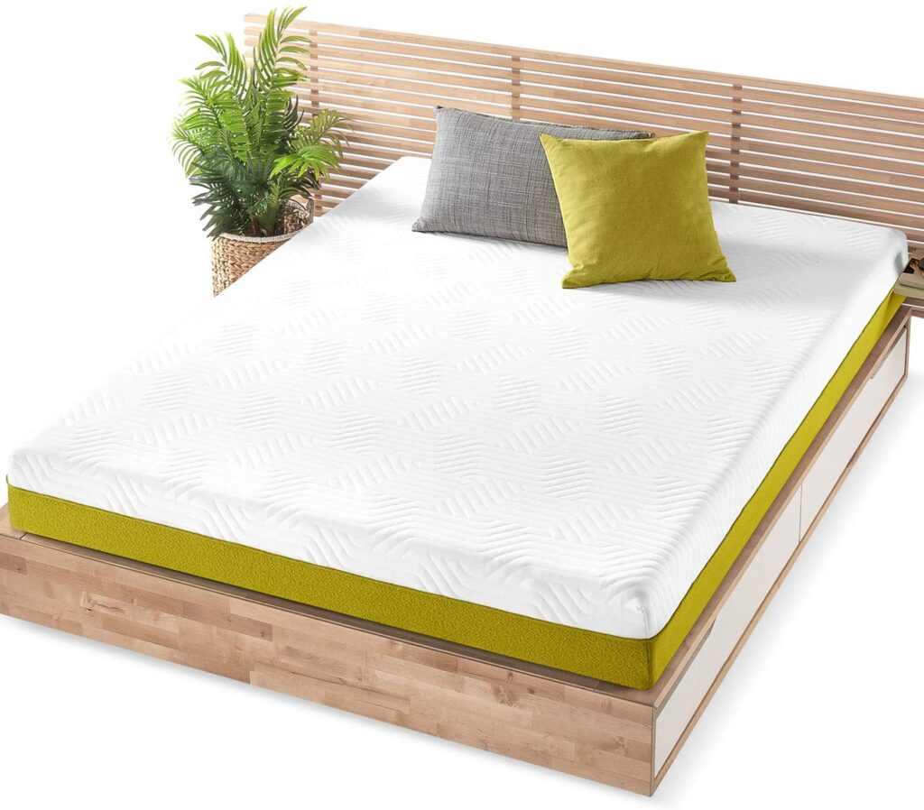 Mellow Lagom Pocket Spring Antimicrobial Copper Mattress