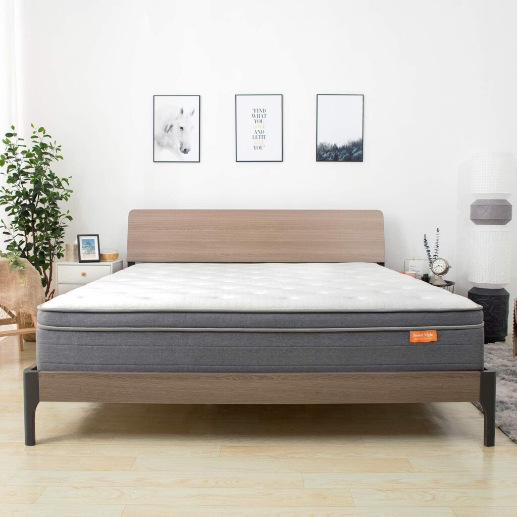 Pocket Spring Hybrid Mattresses for Motion Isolation, CertiPUR-US Certified