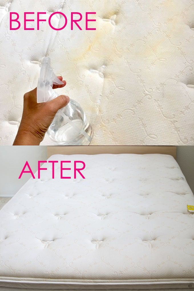 How To Remove Yellow Stains From The Mattress - MattressDX.com